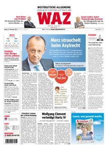 WAZ Westdeutsche Allgemeine Zeitung Oberhausen-Sterkrade - 23. November 2018