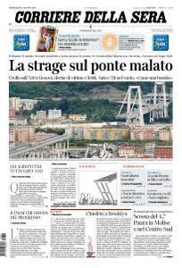 Corriere della Sera - 15 Agosto 2018