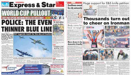 Express and Star Sandwell Edition – June 11, 2018