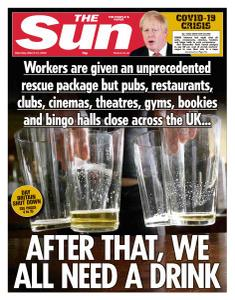 The Sun UK - 21 March 2020
