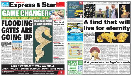 Express and Star Sandwell Edition – July 05, 2019