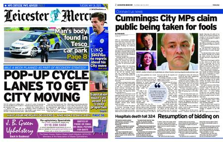 Leicester Mercury – May 26, 2020