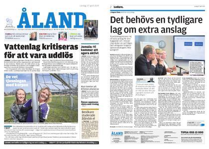 Ålandstidningen – 27 april 2019