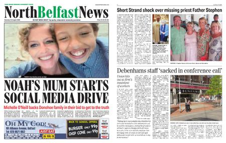 North Belfast News – August 22, 2020