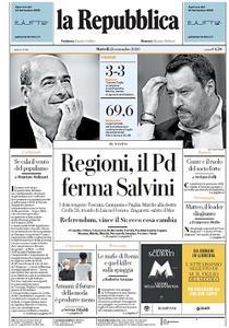la Repubblica - 22 Settembre 2020