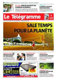Le Télégramme Brest Abers Iroise – 30 juillet 2021