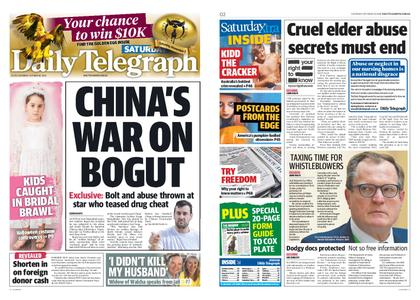 The Daily Telegraph (Sydney) – October 26, 2019