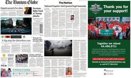 The Boston Globe – August 24, 2018