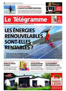 Le Télégramme Ouest Cornouaille – 30 novembre 2020