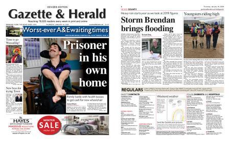 Gazette & Herald – January 16, 2020