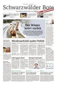Schwarzwälder Bote Hechingen - 18. Januar 2018