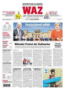 WAZ Westdeutsche Allgemeine Zeitung Oberhausen-Sterkrade - 23. September 2017