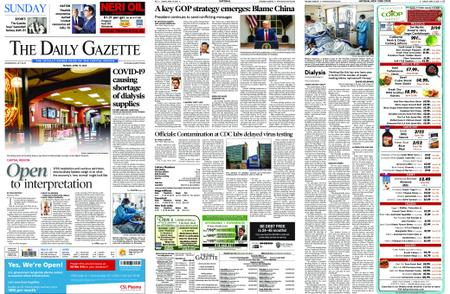 The Daily Gazette – April 19, 2020