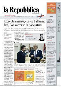 la Repubblica - 31 Luglio 2018