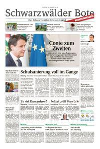 Schwarzwälder Bote Hechingen - 30. August 2019