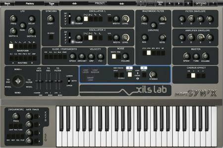 XILS-lab miniSyn'X v2.0.3 WiN