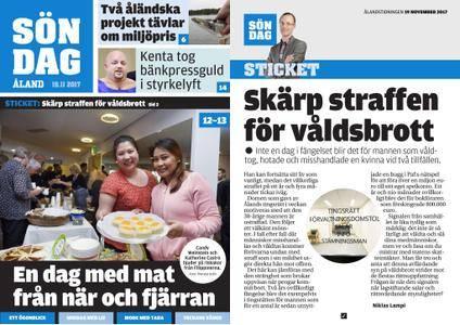 Ålandstidningen – 19 november 2017