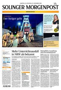 Solinger Morgenpost – 22. Dezember 2018
