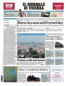Il Giornale Di Vicenza - 5 Gennaio 2016