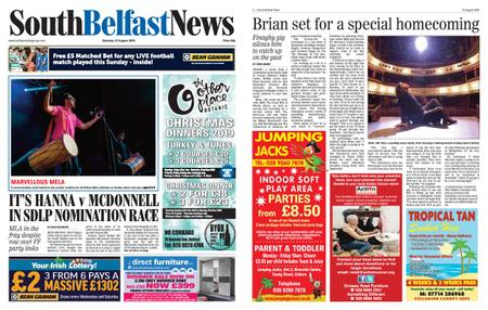 South Belfast News – August 29, 2019