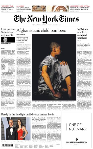 International New York Times - 15 January 2019