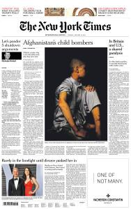 International New York Times - 15 January 2019