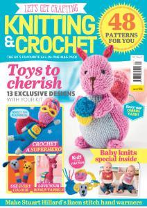 Let's Get Crafting Knitting & Crochet - Issue 97 - December 2017