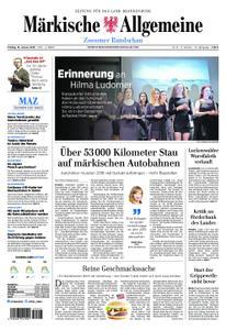 Märkische Allgemeine Zossener Rundschau - 18. Januar 2019