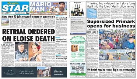 Shropshire Star Shrewsbury Edition – April 12, 2019