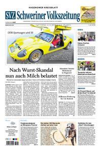 Schweriner Volkszeitung Hagenower Kreisblatt - 12. Oktober 2019