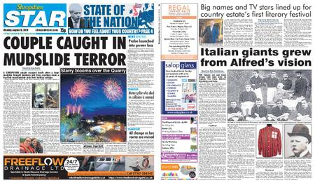 Shropshire Star Shrewsbury Edition – August 12, 2019