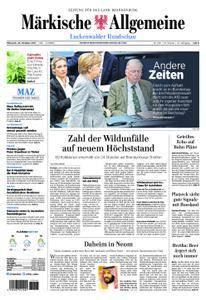 Märkische Allgemeine Luckenwalder Rundschau - 25. Oktober 2017