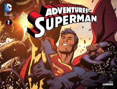 Adventures of Superman 002 2013 Digital