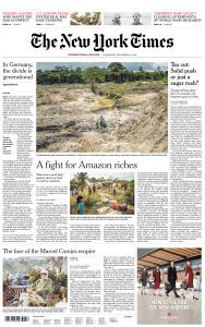 International New York Times - 14 November 2018