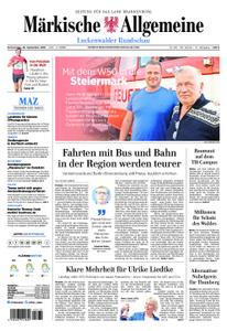 Märkische Allgemeine Luckenwalder Rundschau - 26. September 2019
