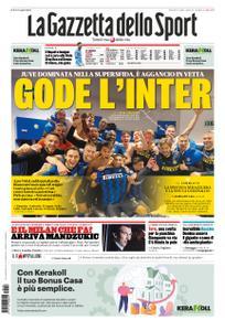 La Gazzetta dello Sport Roma – 18 gennaio 2021