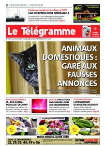 Le Télégramme Landerneau - Lesneven – 15 avril 2021