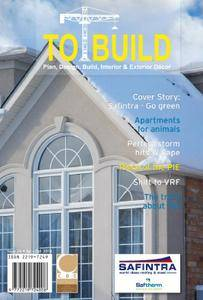 To Build Magazine - July-October 2018