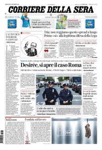 Corriere della Sera – 25 ottobre 2018