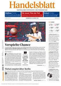 Handelsblatt - 18. August 2016