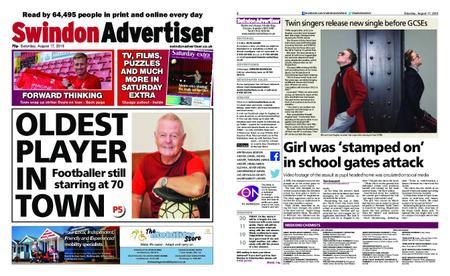Swindon Advertiser – August 17, 2019