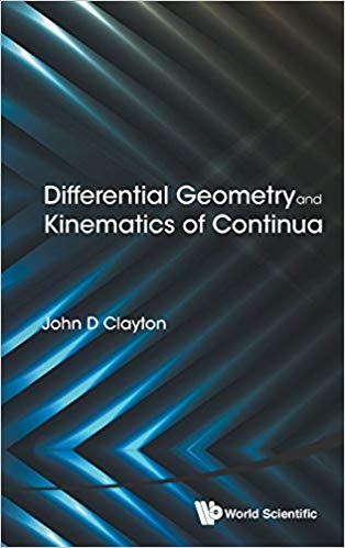 Differential Geometry And Kinematics Of Continua