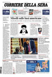 Corriere della Sera – 08 gennaio 2020