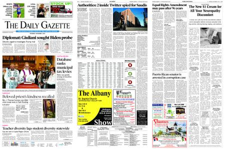 The Daily Gazette – November 07, 2019