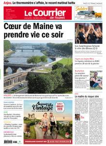 Le Courrier de l'Ouest Nord Anjou – 29 juin 2019
