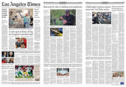 Los Angeles Times – December 19, 2020