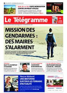 Le Télégramme Ouest Cornouaille – 18 mai 2021