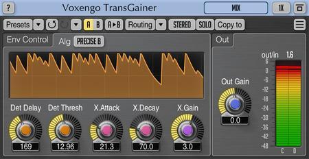Voxengo TransGainer 1.8