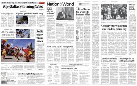 The Dallas Morning News – September 25, 2021