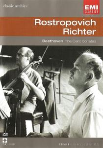 Mstislav Rostropovich, Sviatoslav Richter - Beethoven: Tne Cello Sonatas (2002/1964)